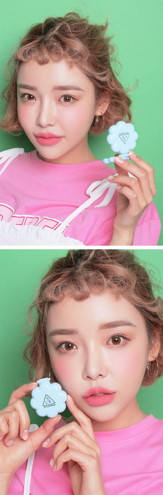 ผลการค้นหารูปภาพสำหรับ 3CE Love Cheek Maker Pink Ground